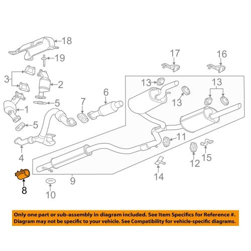 General Motors 92202996, Exhaust Clamp by General Motors (Image #1)