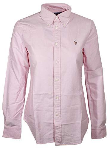 Polo Ralph Lauren Women's Slim Fit Long Sleeve Shirt Buttondown