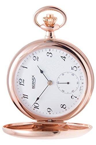 BN22337 – Rose Gold Plated – Full Hunter – Mechanical Movement – Arabic Dial – White Dial
