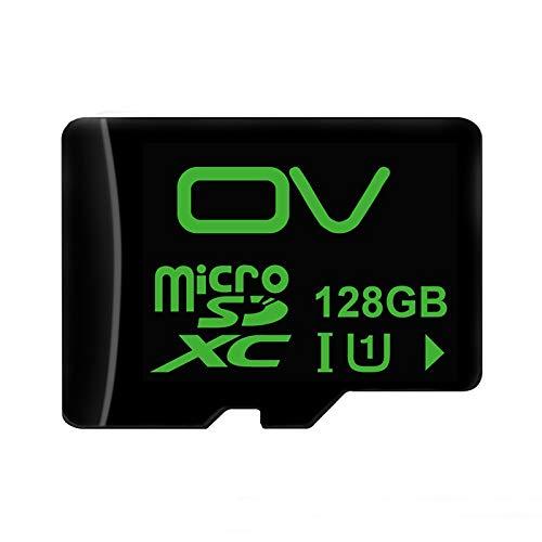 (HITSAN INCORPORATION OV 80MB/S 128G Class10 U1 Micro SD TF Card Memory Card)