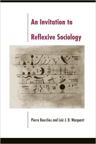 Amazon An Invitation To Reflexive Sociology 9780226067414
