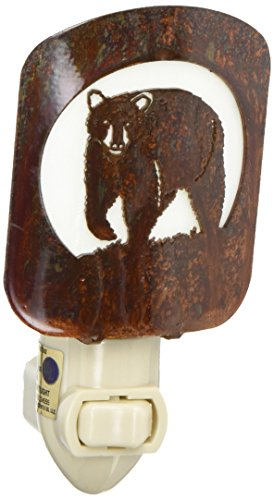 Thirstystone BNLBRHP Laz NL black Bear Nightlight HP, Honey Pinion