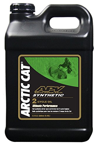 Arctic Cat APV Synthetic 2-Stroke Injection Oil - 2.5 Gallon by Arctic Cat