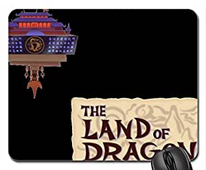 The Land Of Dragons (KH2) (KHII) Mouse Pad, Mousepad (10.2 x 8.3 x 0.12 inches)