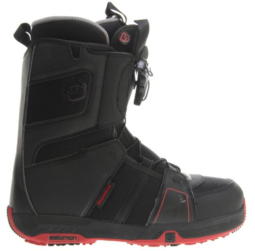 Salomon Echelon Snowboard Boots Black/Rubis-X Sz 11.5