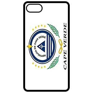 Cape Verde Coat Of Arms Flag Emblem Black Apple Iphone 6 (4.7 Inch) Cell Phone Case - Cover