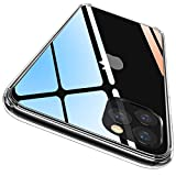 CASEKOO iPhone 11 Pro Max Case, Clear Protective [Anti-Yellowing] Ultra Hybrid Cover with Hard Back and Flexible Slim Lightweight TPU Bumper Cases for iPhone 11 Pro Max 6.5 inch 2019 - Crystal Clear