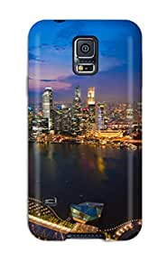 7639868K48687236 Case For Galaxy S5 With Nice Singapore City Appearance