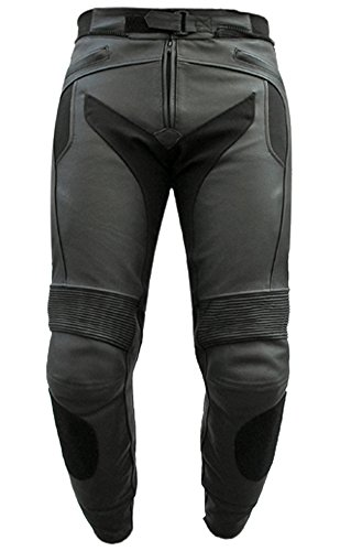 Leather Bike Pants - 4
