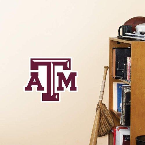 NCAA Texas A&M Aggies Teammate Logo Fathead Texas A&m College Vinyl