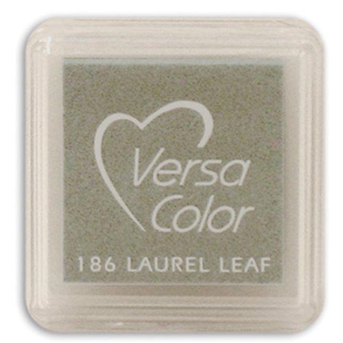 (Tsukineko Small-Size VersaColor Ultimate Pigment Inkpad, Laurel Leaf)