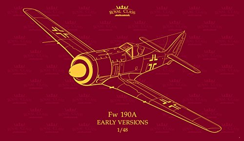 Early Version Fighter (EDUR0016 1:48 Eduard Fw 190A Early Versions Royal Class (2 full kits) [MODEL BUILDING KIT])