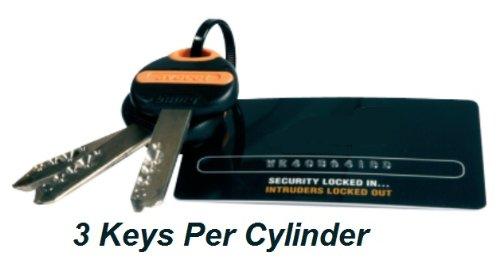 45 EXT 45//45 Brass Avocet ABS Quantum Thumb Turn Euro Cylinder Door Lock Barrel Anti Snap High Security 3 Star TS007 X 45 INT