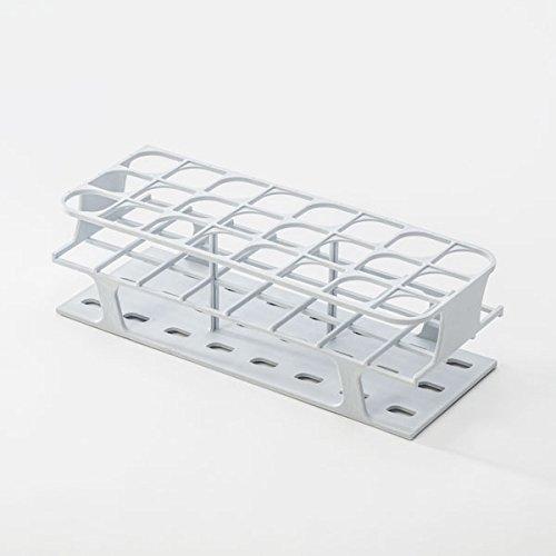 Full-Size Freezer Rack for 30mm Test Tubes - White - 1 each