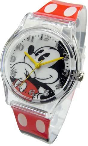 Disney Mickey Mouse Watch For Children.Large Analog Display. Adjustable Band 9