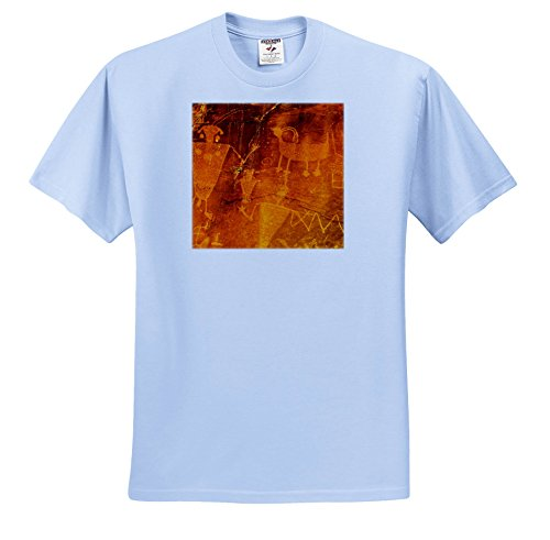 Danita Delimont - Artwork - USA, Dinosaur National Monument, Petroglyphs by Fremont Natives. - T-Shirts - Toddler Light-Blue-T-Shirt (2T) (TS_259106_63)
