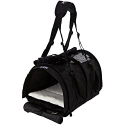 Sturdibag Large Pet Carrier Color: Black