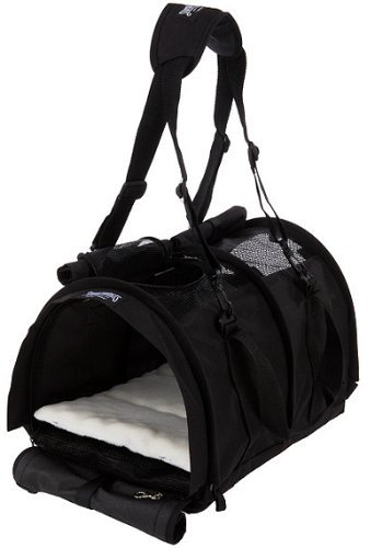 (Sturdibag Large Pet Carrier Color: Black)