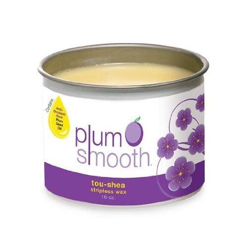 Smooth Cashmere - Plum Smooth Stripless Wax Tou-Shea Cashmere 16oz
