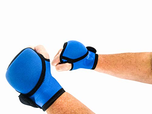 Trademark Innovations Weighted Kickboxing Boxing Hand Weight Gloves