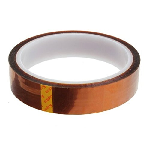 Foxnovo High Temperature Heat Resistant Kapton Tape Polyimide Film Adhesive Tape (20mm*33m)