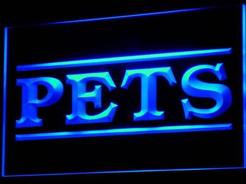 Pets Shop Pet Dog Cat Animals LED Sign Neon Light Sign Display i601-b(c) by AdvPro 3D Sign
