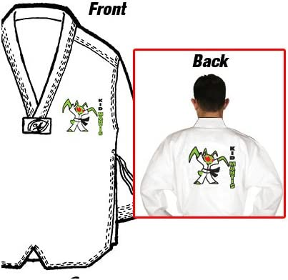 Uniform Tiger Claw 6 OZ Essential Tae Kwon Do TKD