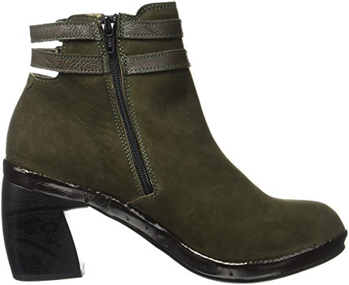 Fly London Damen Cure786fly Braun Stiefel (alghe)