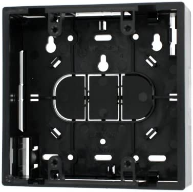 1.89 Black Leviton 42777-2EA Surface Mount Backbox Dual Gang