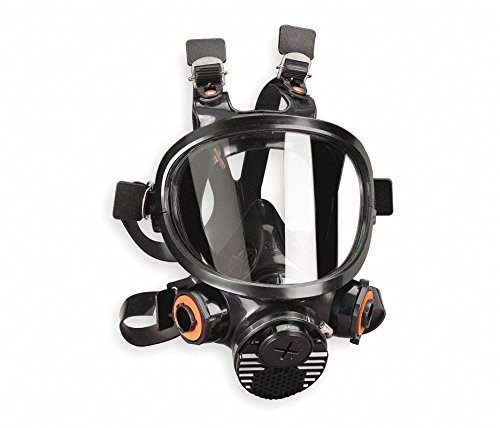 Full Face Silicone Respirator 7800 Series, Small
