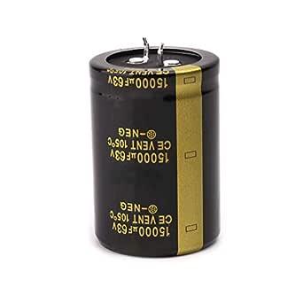 XllLU 63V 15000uF Aluminum Electrolytic Capacitor,Volume 35x50,Amplifier Audio Filter Capacitors