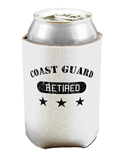 TooLoud Retired Coast Guard Can/Bottle Insulator Cooler - 2 Pack