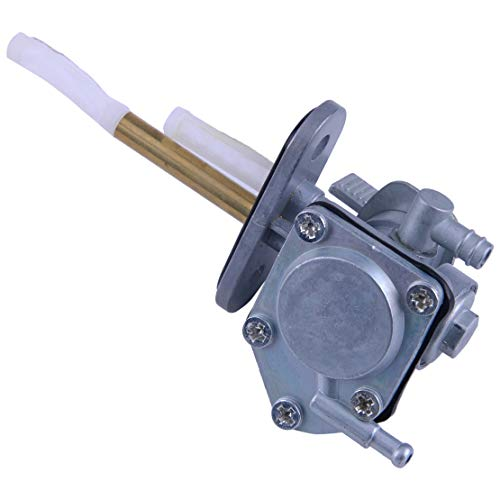 Fuel Petcock Switch Valve Fit for Suzuki King Quad LTF300F Quadrunner LTF250F LT4WD 44300-19B22 Metal Plastic ()