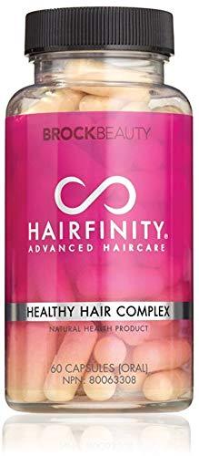 Brock Beauty Hairfinity Healthy Hair Vitamins 60 Capsules (1 Month Supply) -