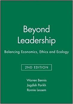 Book Beyond Leadership: Balancing Economics, Ethics and Ecology