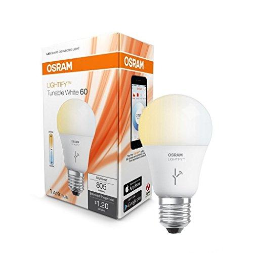 sylvania lightify by osram smart home led light bulb. Black Bedroom Furniture Sets. Home Design Ideas