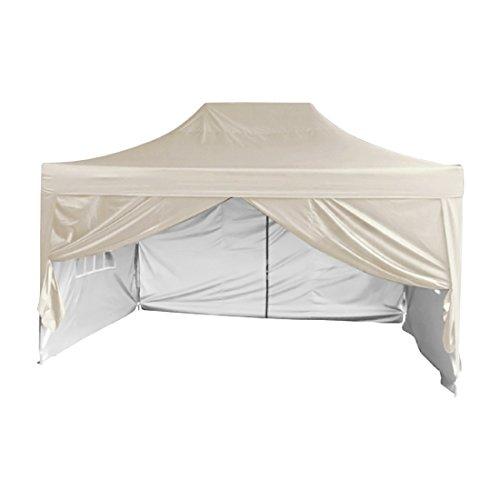 Quictent Privacy 10'x15' EZ Pop Up Canopy Gazebo Instant Ten