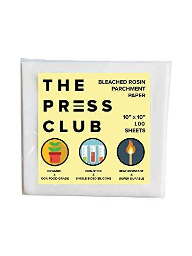 Premium Super Slick Parchment Paper Squares | 100 Sheets | 10