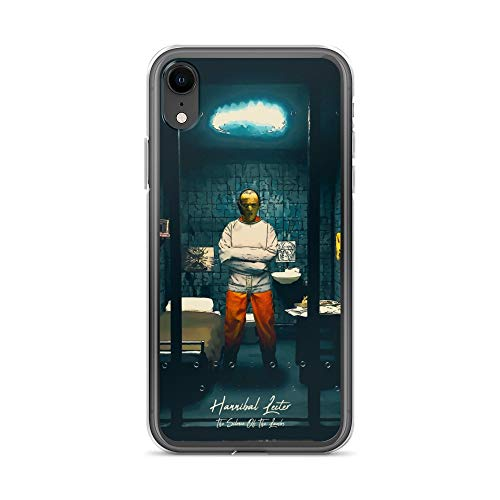 iPhone XR Case Anti-Scratch Motion Picture Transparent Cases Cover Hannibal Lecter The Silence of The Lambs Movies Video Film Crystal Clear