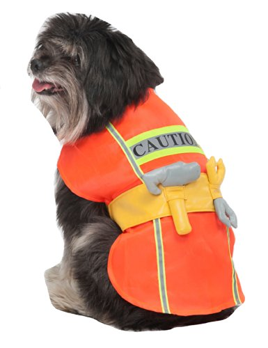 (Fashion Pet Construction Worker Pet Costume,)