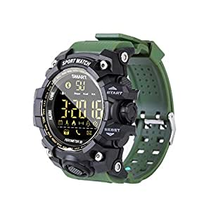 Amazon.com : IP67 Waterproof EX16S Smart Sport Watch ...