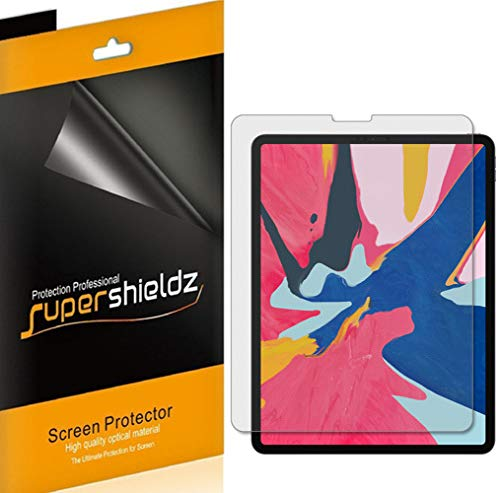 Supershieldz (3 Pack) for Apple iPad Pro 12.9 inch (2018 Model 3rd Generation) Screen Protector, Anti Glare and Anti Fingerprint (Matte) Shield (Best Ipad Pro Matte Screen Protector)