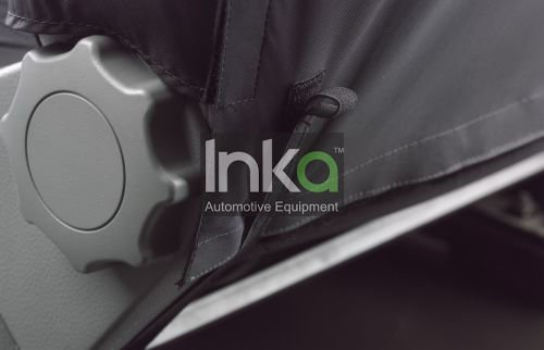 Inka Vivaro 2014-2016 Inka Front Seat Covers 1+1 With Armrests in Grey