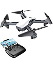 Potensic Drone with Case, F181DH RC Quadcopter Drone RTF Altitude Hold with Hover and 3D Flips Stepless-speed Function, 2MP HD Camera & 5.8Ghz FPV LCD Screen Monitor & Carrying Case