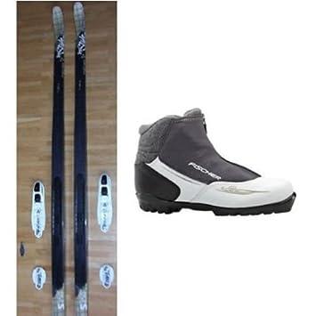 XC Pro Cross-Country Ski Womens Ski Set Fischer Mystique Skis Cruiser NIS +  BINDUNG + Shoes My Style  Amazon.co.uk  Sports   Outdoors f5cdbadad
