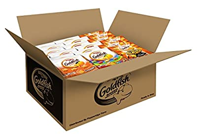 Pepperidge Farm Goldfish Crackers 40 Count Variety Pack, 37.6 Ounce by Pepperidge Farm (Snacks)
