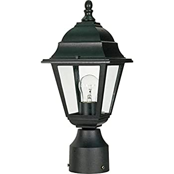 Amazon nuvo lighting 60548 one light post lantern outdoor nuvo lighting 60548 one light post lantern aloadofball Gallery