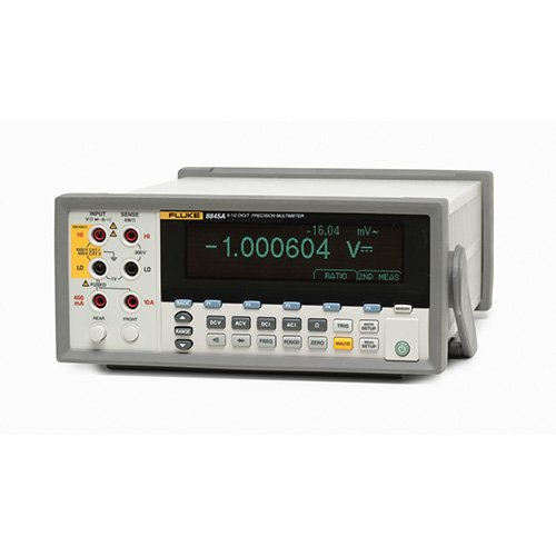 - Fluke 8845A/C Auto-ranging, True RMS Multimeter with 17025 Accredited Calibration Certificate, Dual Display, and Basic Software, 10 Amp, 750VAC, 1000VDC, 100 Megaohms, 300 kHz
