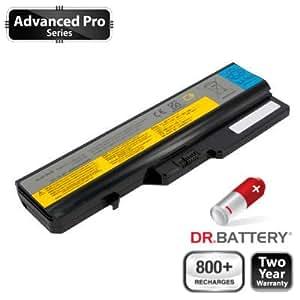Dr Battery Advanced Pro Series batería de repuesto para portátiles Lenovo IdeaPad G560E (4400 mah) 800 ciclos de recarga 2 año de garantía.