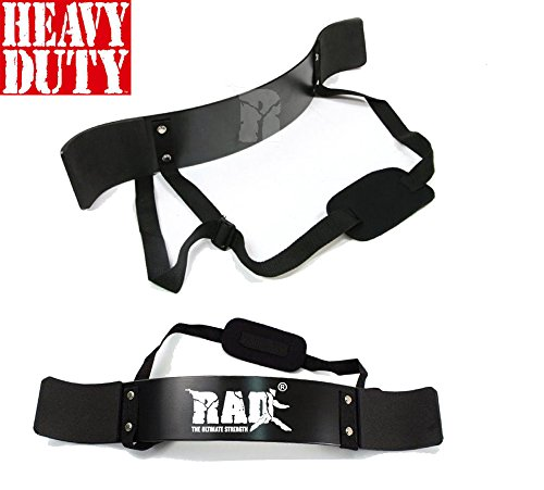 RAD Arm Blaster Body Building Bomber Bicep Curl Triceps Muscle Builder New